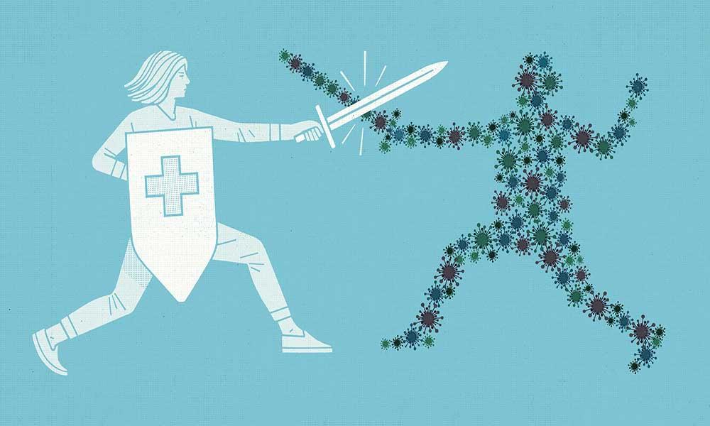 بیماری کرونا ویروس در مردان: شکل 4