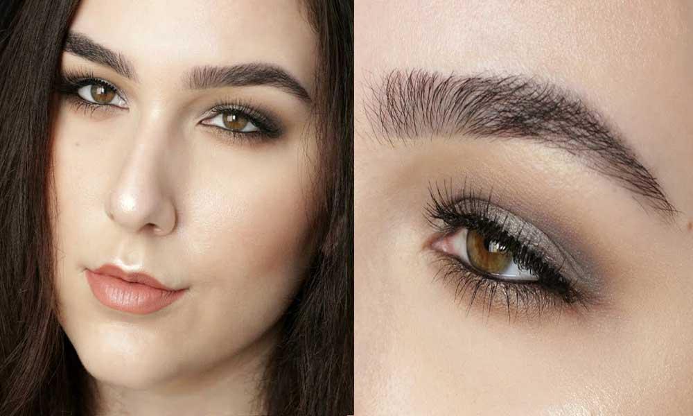 انواع آرایش چشم : چشم های ریز
